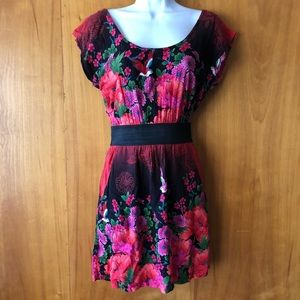 Beautiful Floral Dress Size Small